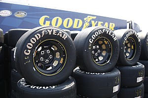 NASCAR Cup Testing report Goodyear working with low downforce package in Kansas test