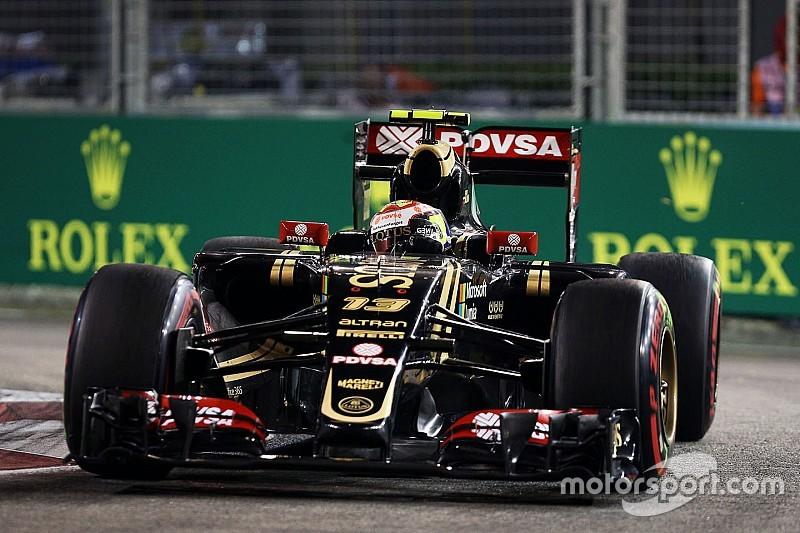 Maldonado signe le 18e temps des qualifications
