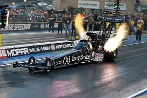 NHRA Qualifying report Millican, Johnson Jr., Anderson and Krawiec are No. 1 qualifiers at Zmax Dragway