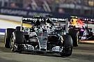 Mercedes dismisses wild Singapore tyre conspiracies