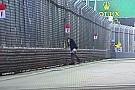 Singapore: arrestato l'invasore della pista