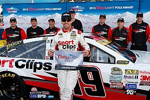 NASCAR Cup Qualifying report Edwards pulls off the qualifying sweep at New Hampshire
