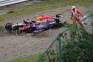 "Após acidente espetacular, Kvyat admite ""erro de iniciante"""