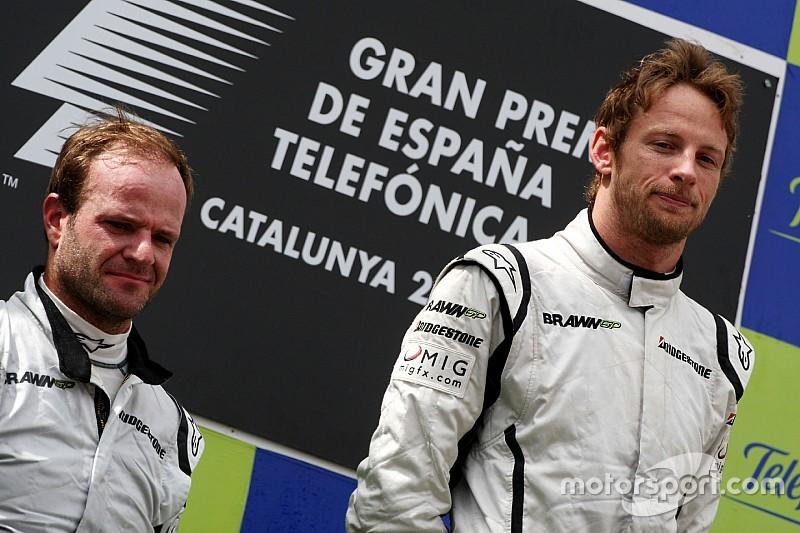 Button pode quebrar recorde de provas de Barrichello?