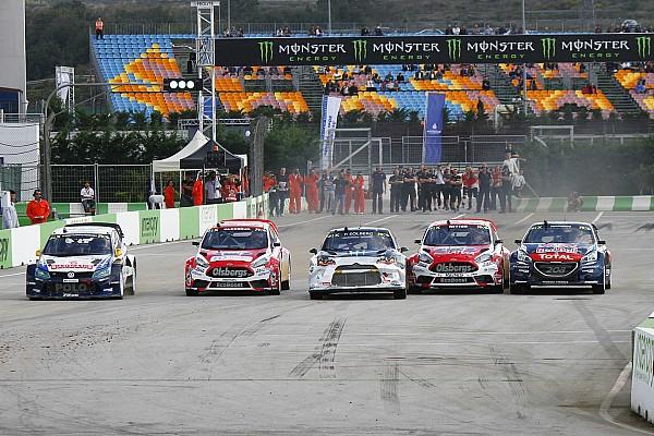 World Rallycross Championnat - Solberg perd la moitié de son avance