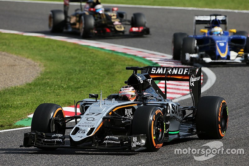 Force India targets catching Williams