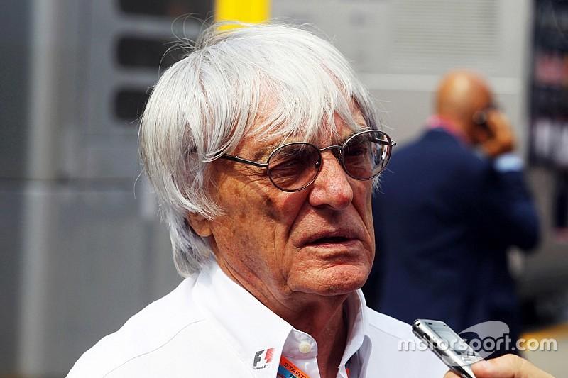 Anuncia Ecclestone que en noviembre se decide entrada de tercer auto