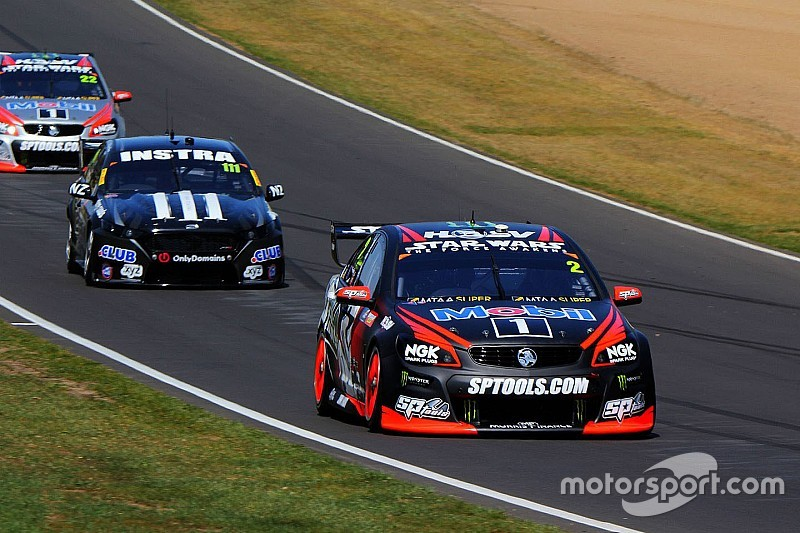 Luff puts Holden on top in second Bathurst practice