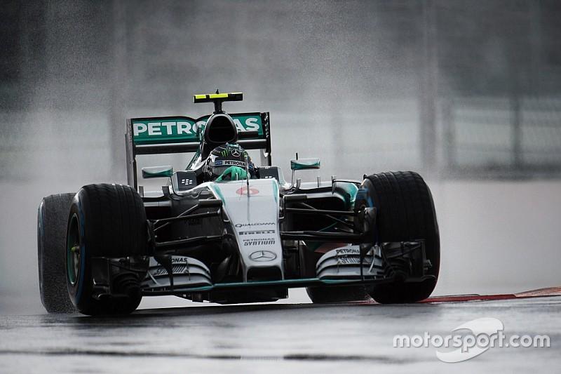 Sochi, Q1: Nico Rosberg mette tutti in fila
