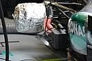 Mercedes: pre riscaldati ai box disco e pinza posteriore