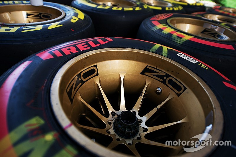 Pirelli reveals final tyre compound choices