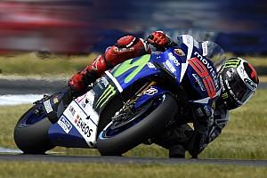 MotoGP Résumé de qualifications Lorenzo - Terminer derrière Rossi rendrait le titre
