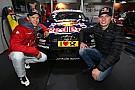 Max Verstappen visits Mattias Ekström
