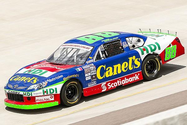 NASCAR Mexico Rubén García Jr. fue el más rápido en Aguascalientes