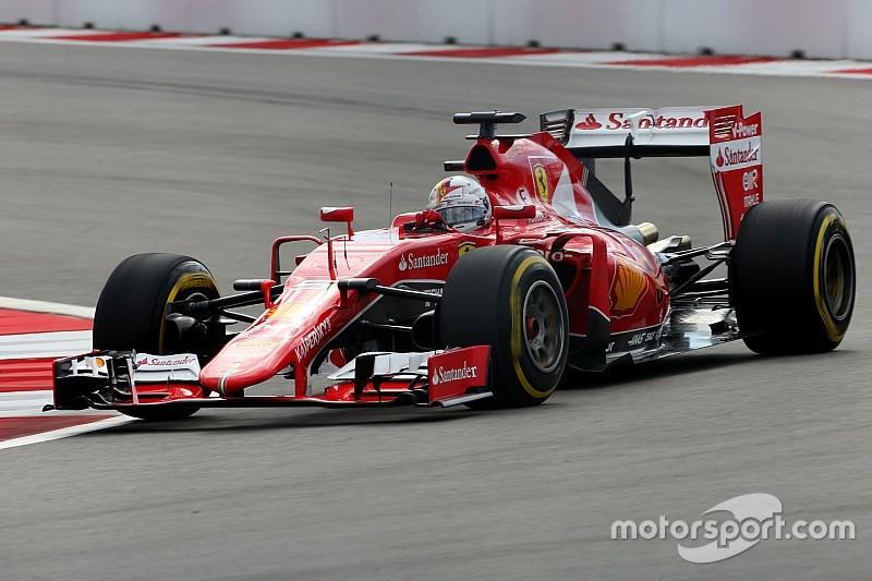 Ferrari: il basamento stretto resta al banco prova