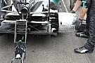 Mercedes: termo-coperta dei freni utile alle pressioni?