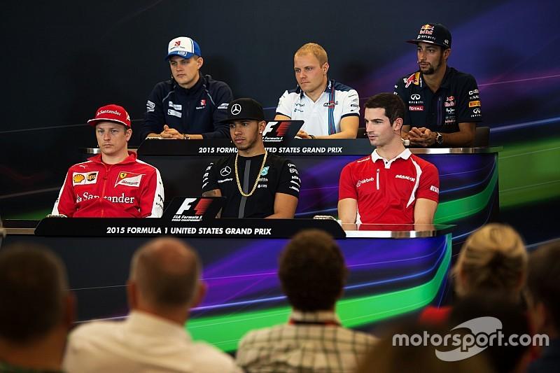 US GP: Thursday's press conference
