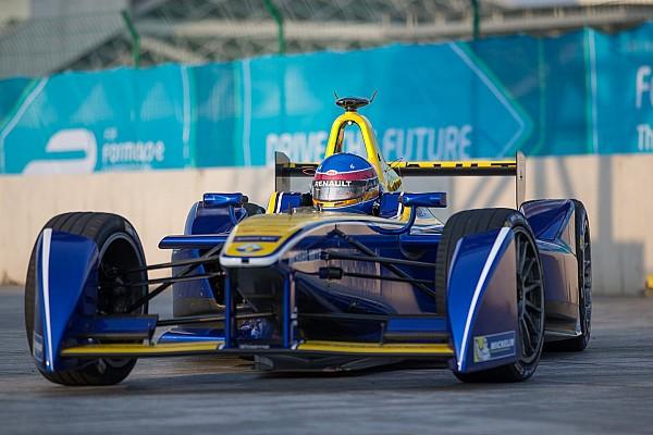 Formel E in Peking: e.dams Renault dominiert erste Session