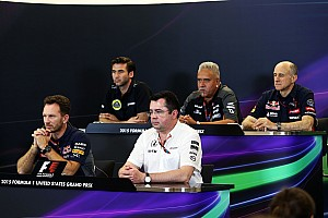 Formula 1 Press conference US GP: Friday's press conference