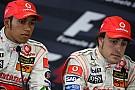 Desafeto dos tempos de McLaren, Alonso parabeniza Hamilton