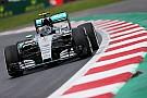 Mexican GP: Rosberg pips Hamilton as Raikkonen blows up