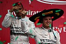 Lewis Hamilton: 'Team 'extra aardig' voor Rosberg in Mexico'