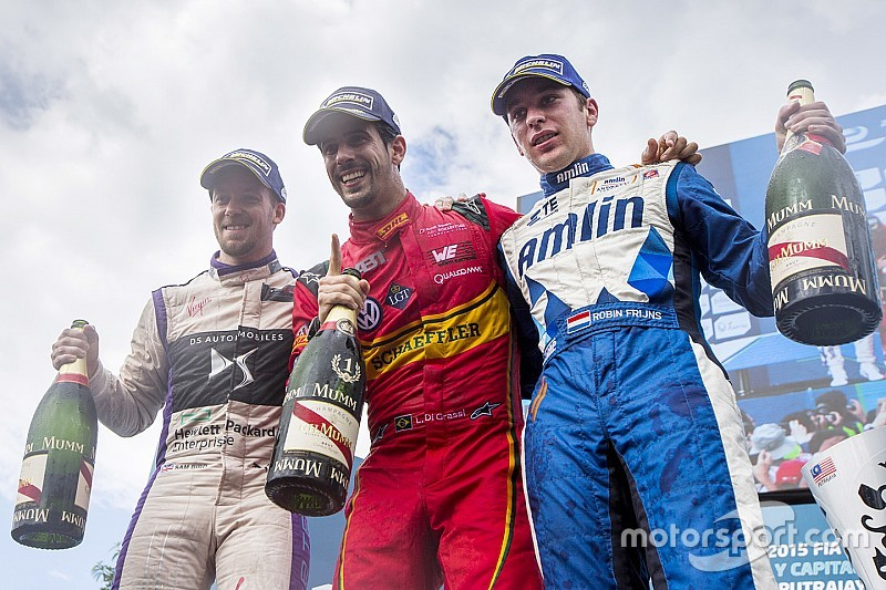 Di Grassi keeps his cool to win in Putrajaya