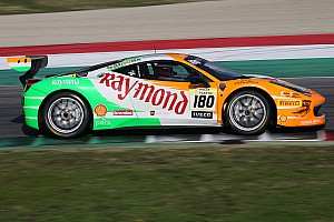 Ferrari Breaking news Singhania runners-up in the 2015 Ferrari Challenge
