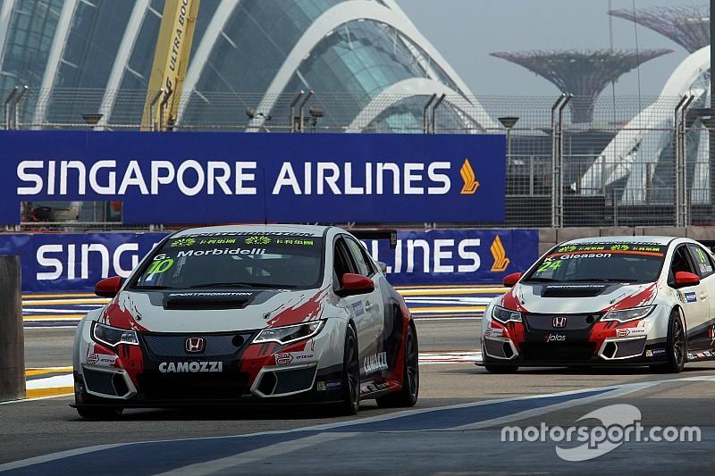 La JAS Motorsport al lavoro sulle nuove Civic TCR