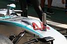 Mercedes va tester un S-duct au Brésil