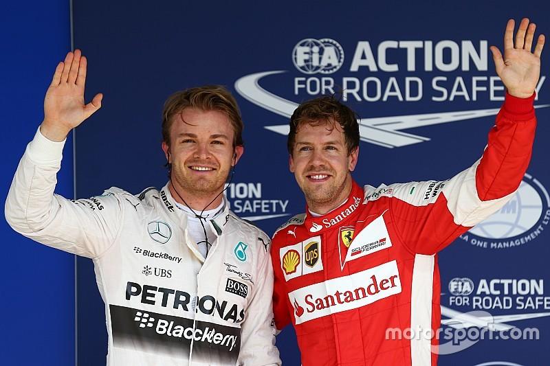 Brazilian GP: Rosberg beats Hamilton to grab fifth straight pole