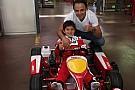 """Massa é paciente com Felipinho: """"só será piloto se quiser"""""""