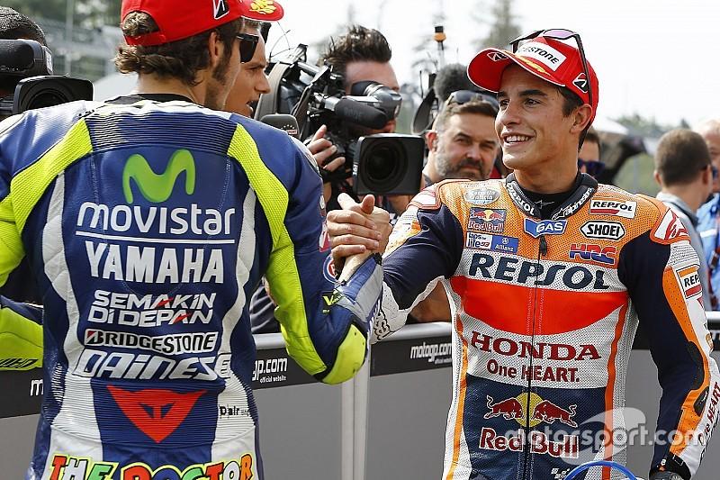 """Márquez: """"Se arreglará cuando Rossi quiera"""""""