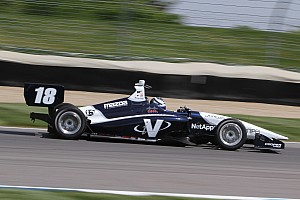 Indy Lights Testing report Kaiser topples Blackstock, Jamin to the top, Lastochkin holds on