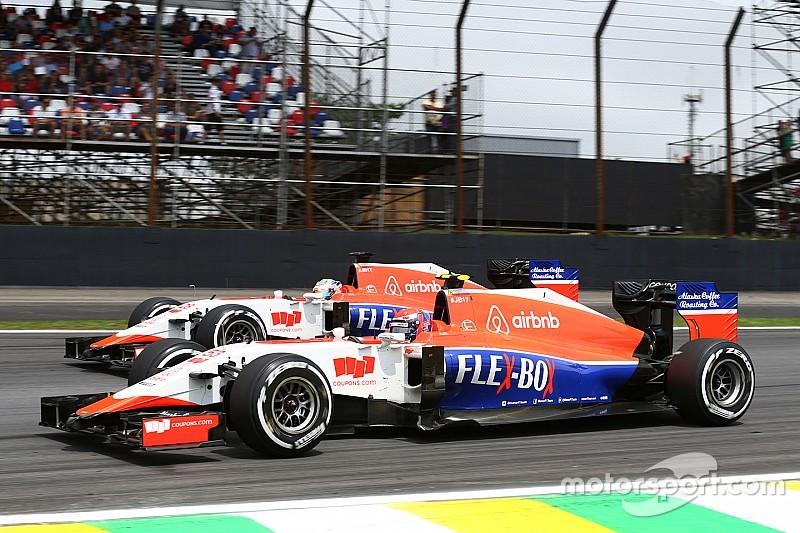 King ed Haryanto nei test Pirelli con la Manor