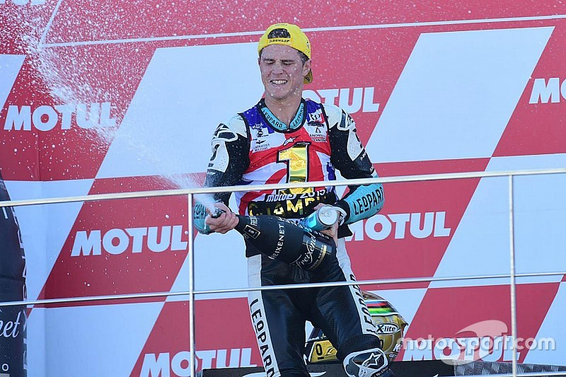 Danny Kent Q&A: Britain's first GP champion since Sheene