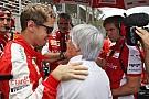 "Ecclestone: ""Sebastian Vettel ist ganz anders als Michael Schumacher"""