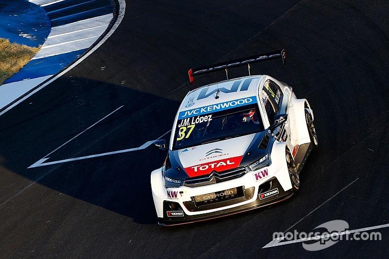 Qatar WTCC: Lopez ends Losail test on top