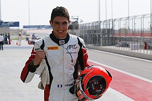 GP3 Qualifying report Abu Dhabi GP3: Ocon takes pole and championship lead