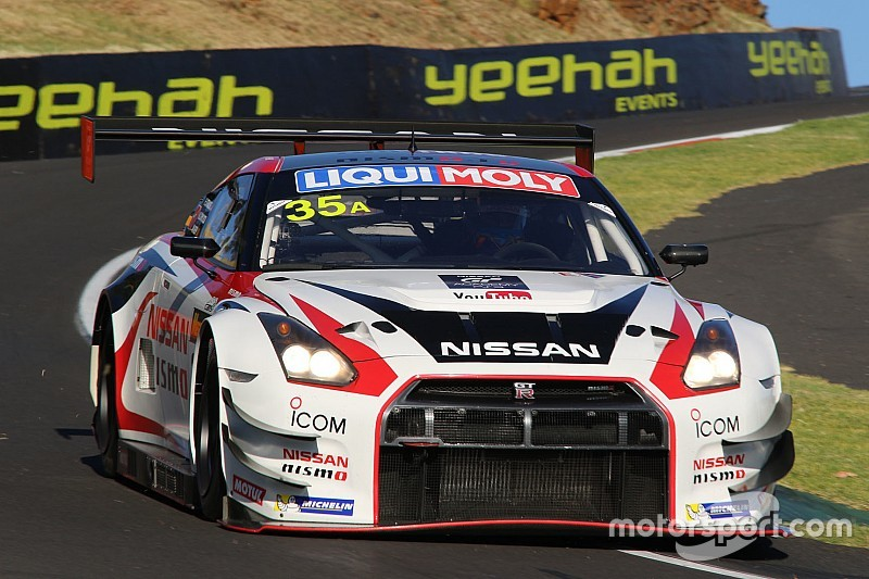 Michael Caruso tests Bathurst 12 Hour winning Nissan GT-R NISMO GT3 at Fuji Speedway - video