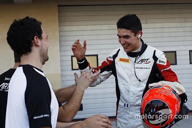 Esteban Ocon scoort GP3-titel in Abu Dhabi
