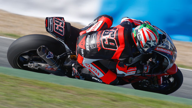 Ben 250 giri per Nicky Hayden nei test di Jerez