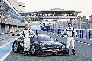 DTM Testbericht Sebastian Asch und Luca Ludwig absolvieren Test im DTM-Meisterauto