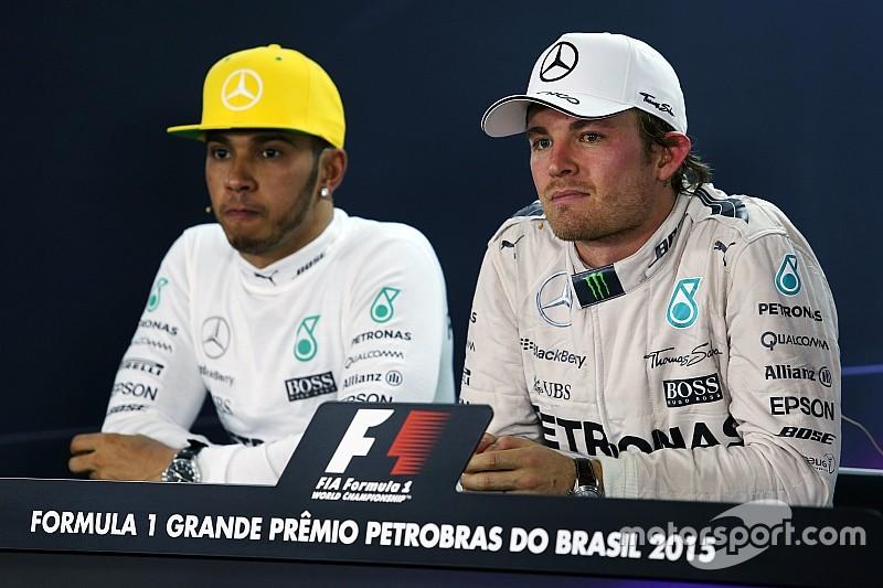 Wolff repeats warning for Hamilton and Rosberg