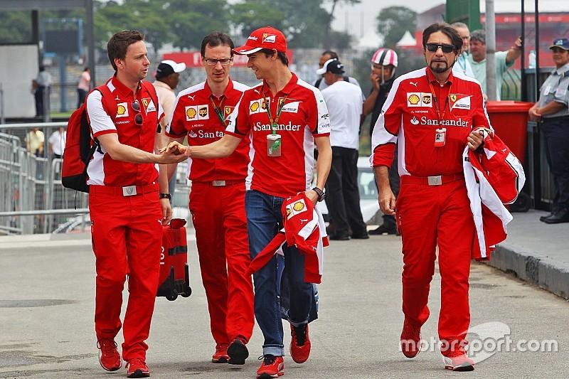 Esteban Gutiérrez celebra con Ferrari la fiesta de fin de año