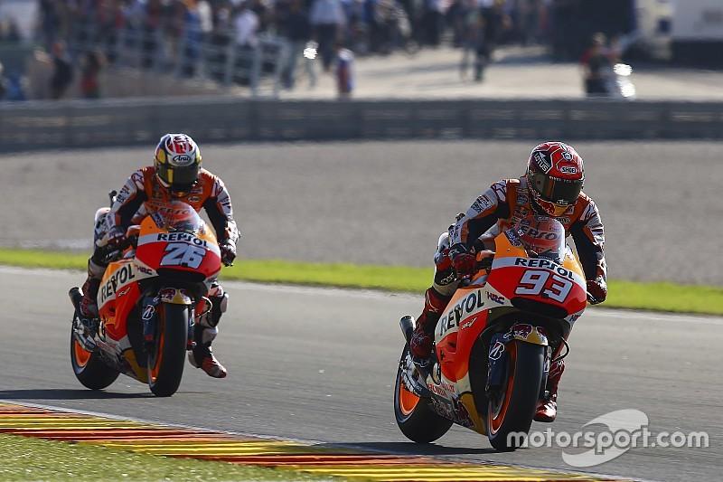Nem Lorenzo ou Rossi, para Marquez, Pedrosa é mais talentoso