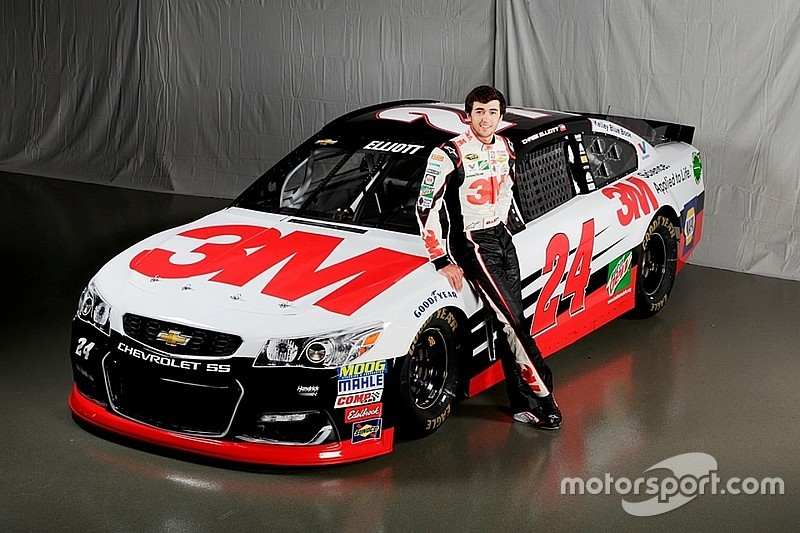 2016 3M scheme unveiled for Chase Elliott's No. 24