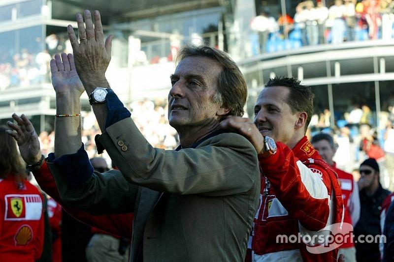 Triste, Montezemolo cree en la recuperación de Schumacher
