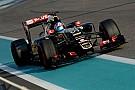 Maldonado pense que Palmer est prêt pour la F1
