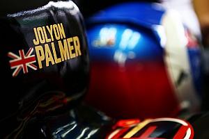 Formule 1 Actualités Palmer saura à Melbourne s'il est rouillé